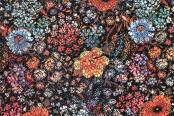 Спилок темные цветы lazer 14(4)