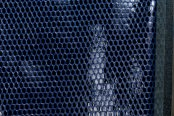 Лак змея синий