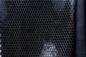 Лак змея черный