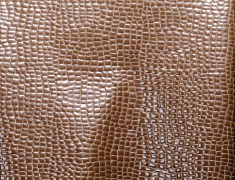 Галантерейная кожа Лак кукуруза коричневая