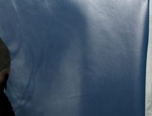 Галантерейная кожа К 3 темно синий