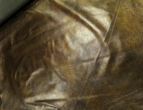 Одежная кожа О 011 коричнево фисташковый