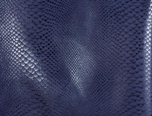 Одежная кожа ОР 05 синяя змея
