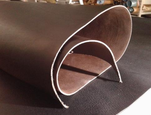 Шорно седельная кожа Чепрак 3,8+, конъячный
