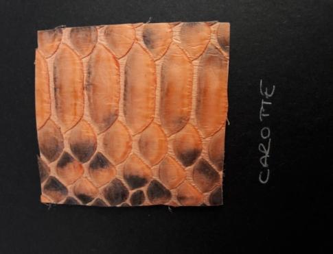Экзотическая кожа Питон (Carotte)