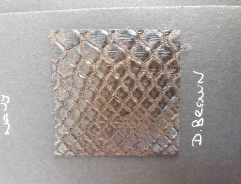 Экзотическая кожа Питон (D.Brown)