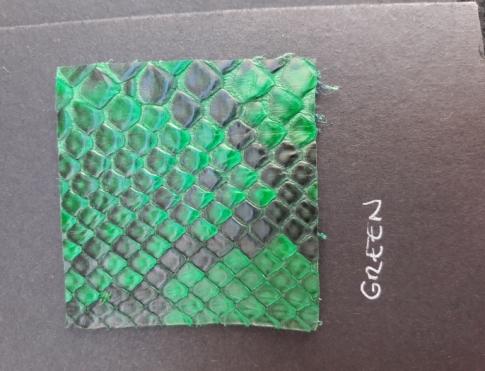 Экзотическая кожа Питон (Green)