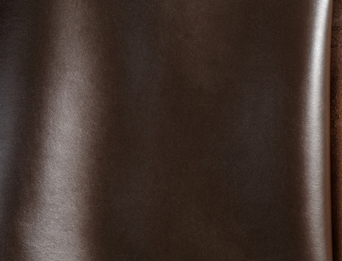 Обувная кожа М 018 темный шоколад