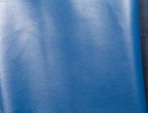 Обувная кожа М 003 сине голубой