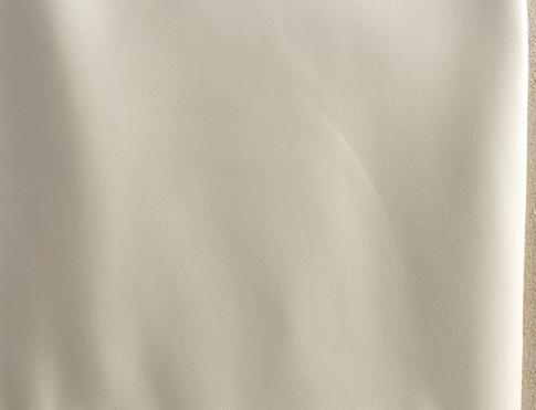 Обувная кожа М 041 белый матовый