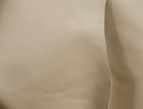 Обувная кожа КРС с плитой ( флоттер бежевый)