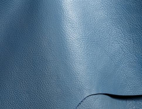 Обувная кожа КРС с плитой (флоттер синий ульрамарин)