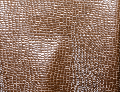 Обувная кожа Лак кукуруза коричневая