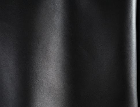 Галантерейная кожа М 022 черный матовый